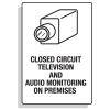Security Camera Signs - Audio Monitoring
