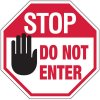 Stop Do Not Enter No Admittance Stop Signs