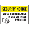 See-Thru Security Decals - Surveillance
