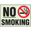 No Smoking Photo Luminescent Path Marking Signs