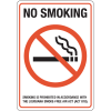 Louisiana Smoke-Free Signs- No Smoking