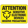 Attention Sensitive Electronic Devices - Static Signs