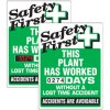 Stock Scoreboards - Safety First Plant