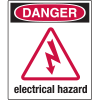 Universal Graphic Signs And Labels - Danger Electrical Hazard