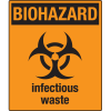 Universal Graphic Signs And Labels - Biohazard Infectious Waste