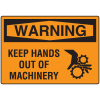OSHA Warning Signs - Warning Keep Hands Out Of Machinery