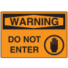 OSHA Warning Signs - Warning Do Not Enter