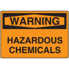OSHA Warning Signs - Warning Hazardous Chemicals