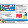 Forklift Workplace Safety Wallchart