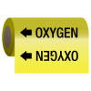Wrap Around Adhesive Roll Markers - Oxygen