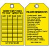 Scaffold Safety Tags - Pre-Shift Inspection