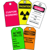 Custom Safety Plastic Tags