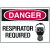 Danger Signs - Respirator Required