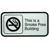 This is a Smoke Free Building Signs