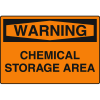 Harsh Condition OSHA Signs - Notice - Chemical Storage Area