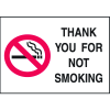 Graphic No Smoking Signs - Thank You For Not Smoking