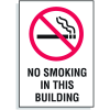 No Smoking In This Building Signs