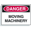Extra Large OSHA Signs - Danger - Moving Machinery