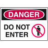 Harsh Condition OSHA Signs - Danger - Do Not Enter