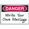 Hazard Warning Labels - Danger Header Only