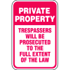 Property Security Signs - Full Extent