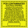 PCB Labels - PCB Contaminated