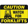 Caution - Forklifts Floor Markers