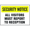 See-Thru Security Decals - All Visitors