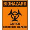 Universal Graphic Signs And Labels - Biohazard Caution Biological Hazard