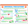 Universal Precautions Workplace Safety Wallchart