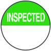 Inspected Write On Dots
