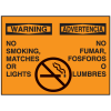 Bilingual Graphic Safety Signs - Warning/Advertencia