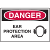 Danger Signs - Ear Protection Area