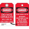 My Life Is On The Line - Accident Prevention Ultra Tag