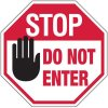 Stop Do Not Enter Signs