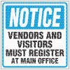 See Thru Security Labels - Notice Register At Office