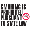 Connecticut Smoke-Free Signs - Smoking Is Prohibited