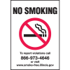 Illinois No Smoking signs - Smoke-Free Illinois