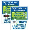 Stock Scoreboards - Days Without Lost Time Accident