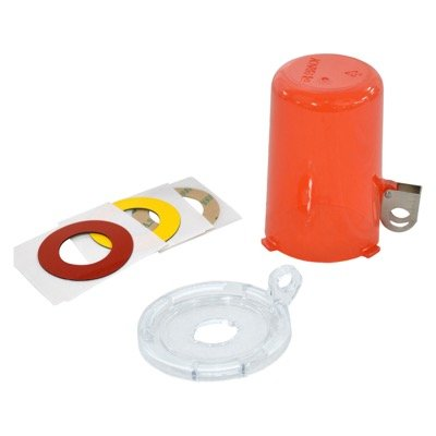 Brady 16 MM Push Button Lockout Device with Tall Cover - Part Number - 130819 - 1/Each