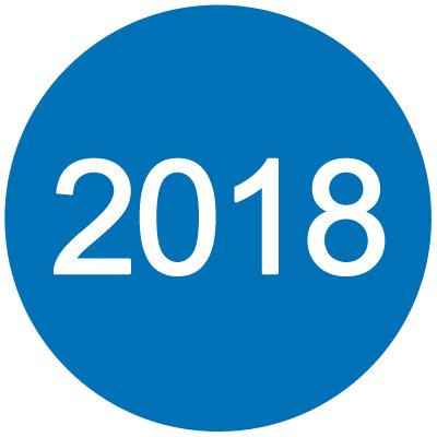 2018 Inventory Dot Paper Label