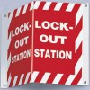 3-Way Lockout Station Sign