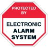Security Signs - Protected by Electronic Alarm System