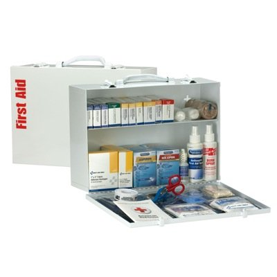 ANSI 75-Person Class A+ First Aid Station With Meds