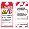 ANSI Crush Hazard Warning Tags