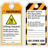 ANSI Lifting Hazard Information Tags
