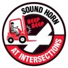 Anti-Slip Floor Markers - Sound Horn At Intersections