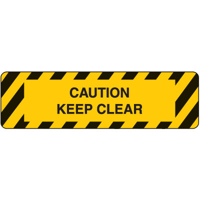 Anti-Slip Stair Markers - Keep Clear