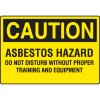 Asbestos Warning Signs - Caution Asbestos Hazard