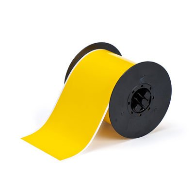 Brady B30C-4000-581-YL B30 Series Label - Yellow